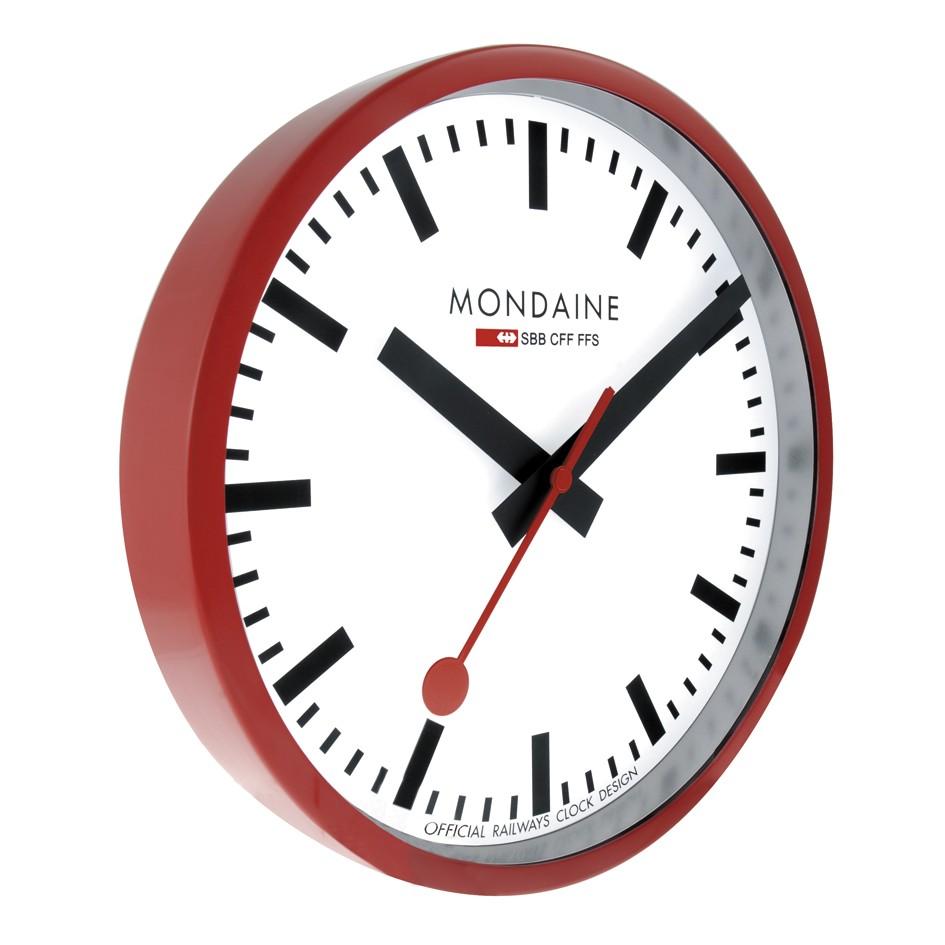 Mondaine swiss watch WALL CLOCK 25CM - A990.CLOCK.11SBC