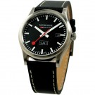 Mondaine swiss watch SPORT I GENTS DAY DATE - A667.30308.19SBB