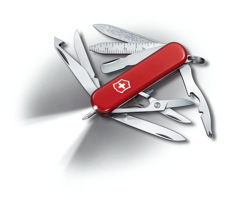 Schweizer Taschenmesser Victorinox Midnite Minichamp  0.6386