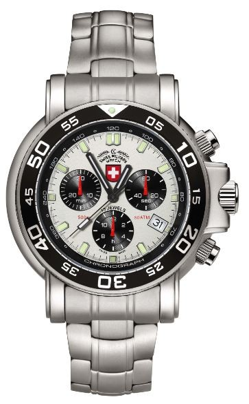 Swiss Military by Charmex Navy Diver 500m    2465