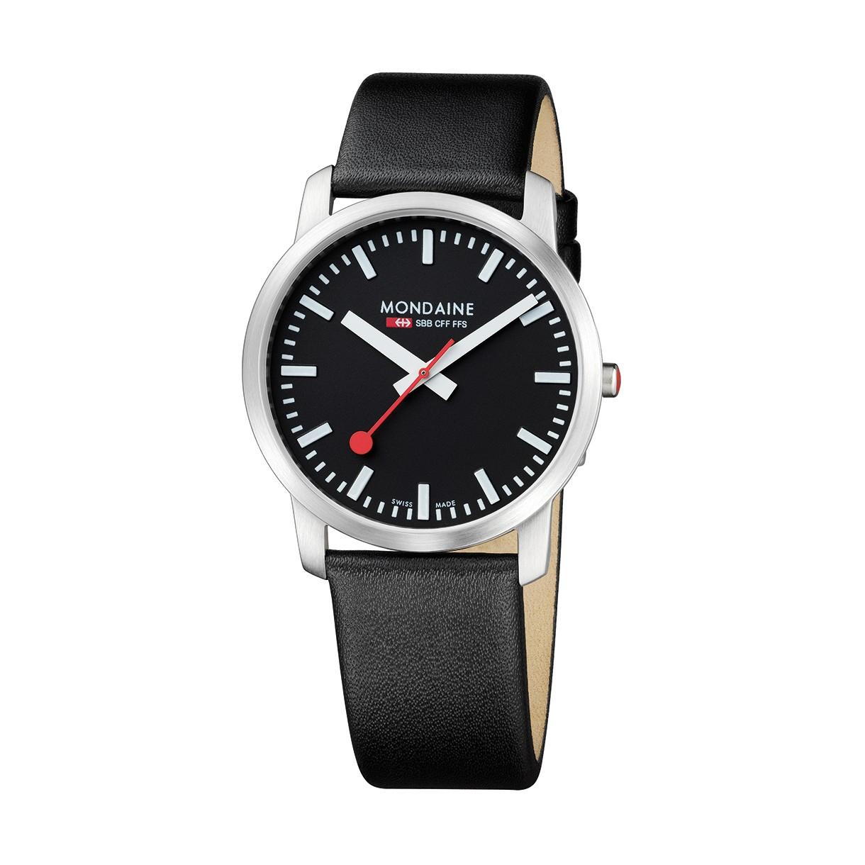 Mondaine swiss watch SIMPLY ELEGANT GENTS - A638.30350.14SBB