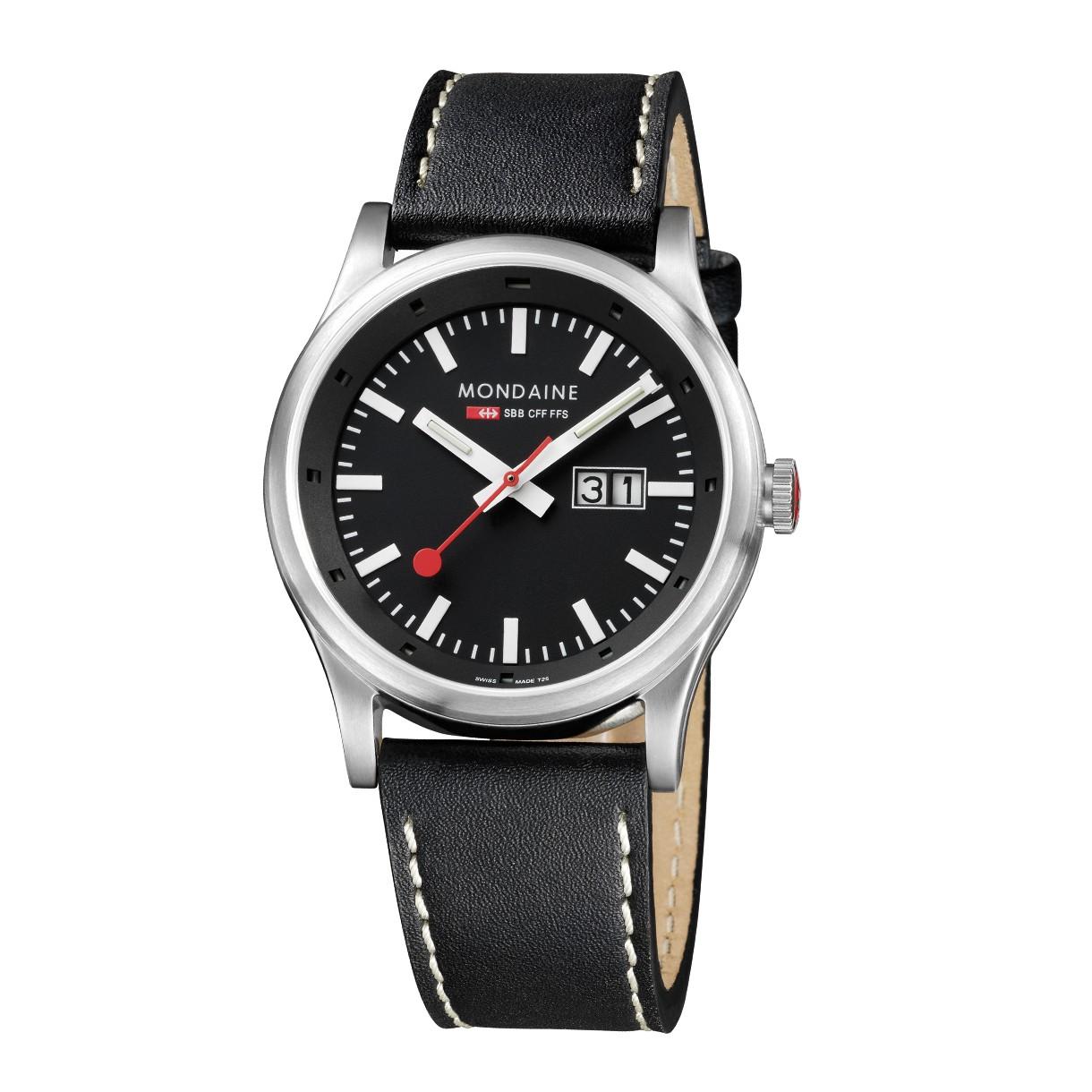 Mondaine swiss watch Sport A669.30308.14SBB