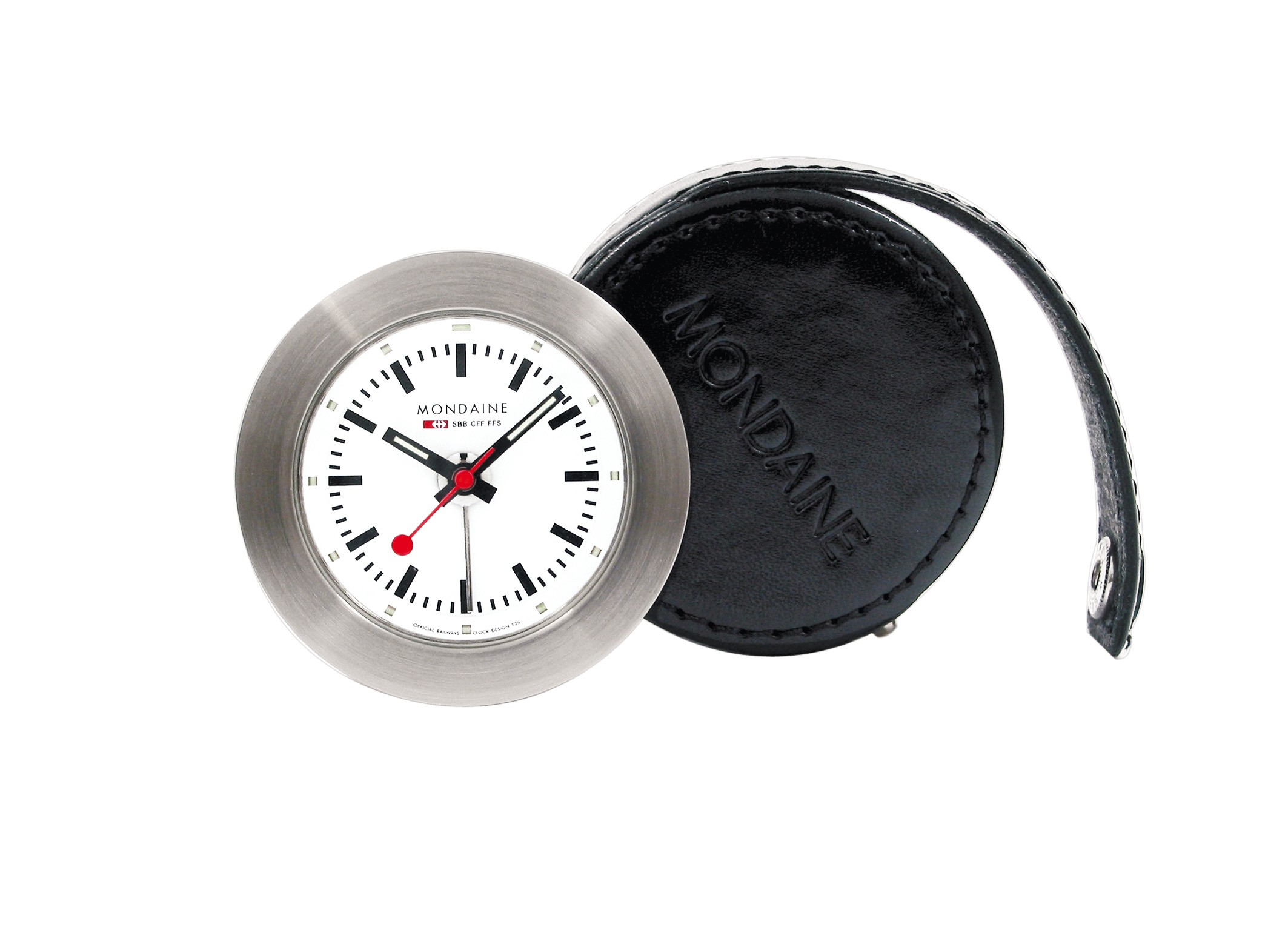 Mondaine swiss watch ALARM CLOCK NIGHT VISION - A992.TRUK.16SBB