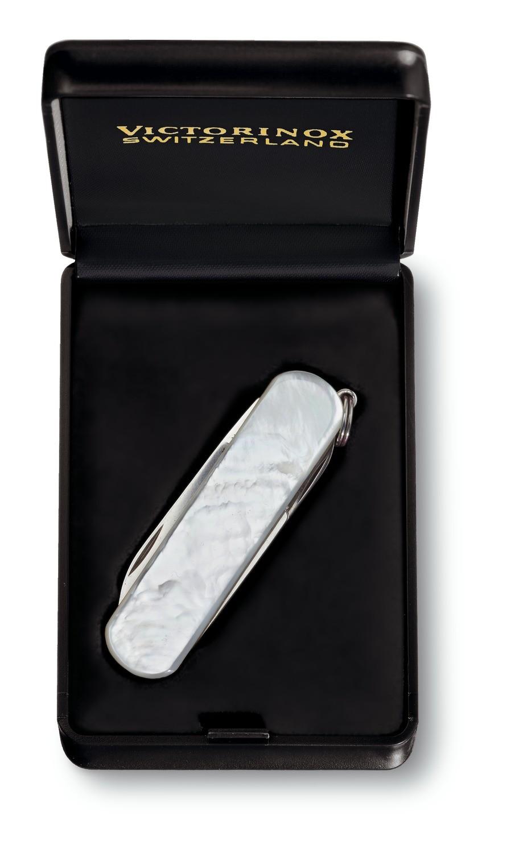 couteau de poche suisse Victorinox Classic avec anneau SKU# 0.62