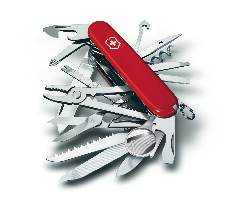 Victorinox couteau de poche Suisse SwissChamp SKU# 1.6795