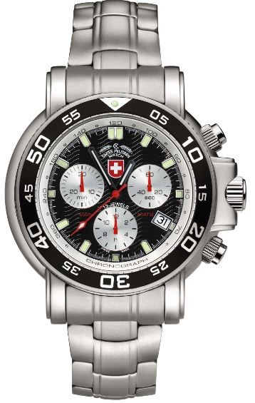 Swiss Military by Charmex   Navy Diver 500m    2466