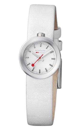 Mondaine montre suisse dame  AURA A666.30324.16SBA.A