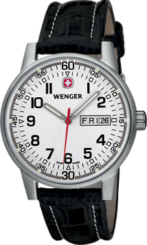 Wenger watch Commando 3-hands 70160.XL, day, date