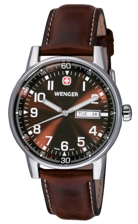 Wenger Wenger Uhr Commando 3-hands 70162.XL, day, date, swiss wa