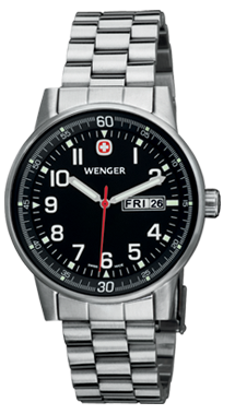 Wenger watch Commando 3-hands 70163.XL, day, date
