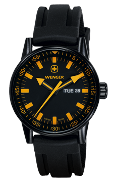 Wenger Uhr Commando Black line 70173