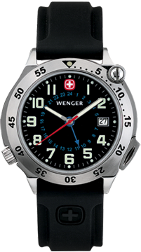 Wenger watch Compass Navigator 70372, with compass