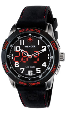 Wenger montre suisse Led Nomad 70430
