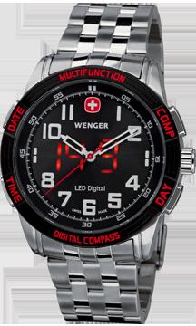 Wenger montre suisse Led Nomad 70436