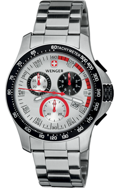 Wenger watch Battalion Field Chrono 70797, chronograph, date, ge