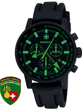 Wenger watch Commando SRC 70891, chronograph, date, gents
