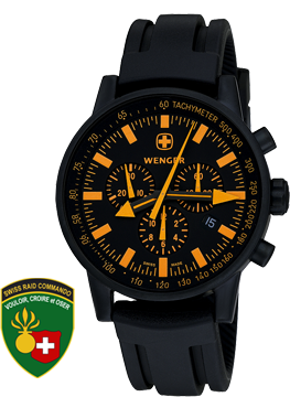 Wenger watch Commando SRC 70893, chronograph, date, gents