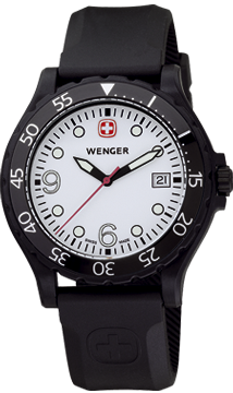Wenger watch Ranger 70900W, Swiss Military Collection, date