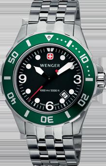 Wenger watch Aquagraph Diver 72227, diver 1000m, date