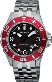 Wenger watch Aquagraph Diver 72228, diver 1000m, date