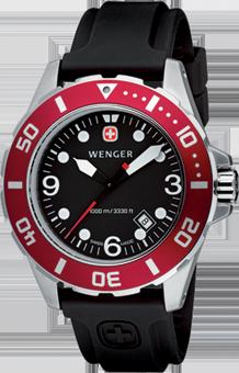 Wenger watch Aquagraph Diver 72233, diver 1000m, date