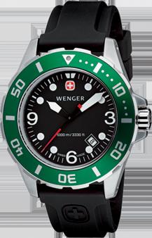 Wenger watch Aquagraph Diver 72234, diver 1000m, date