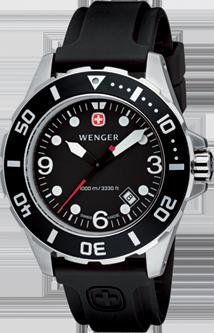 Wenger watch Aquagraph Diver 72235, diver 1000m, date