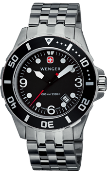 Wenger watch New Sea Force Diver 72236, diver 1000m, date