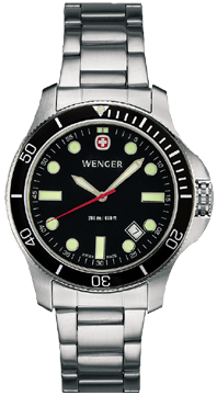Wenger watch New Battalion Diver 72326, 200m, date, swiss watch