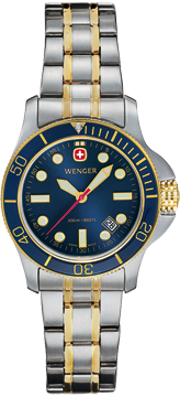 Wenger watch New Battalion Diver 72336 ladys, 200m, date, swiss