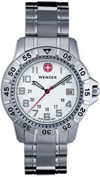 Wenger watch Mountaineer 72617, date, swiss watch