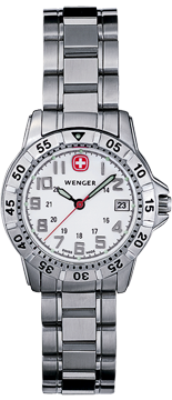 Wenger watch Mountaineer 72629, ladys, date
