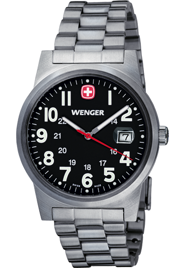Wenger montre Field classic 72806W homme date