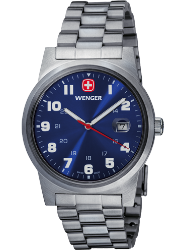 Wenger watch Swiss Military Line Field Classic 72808W, date