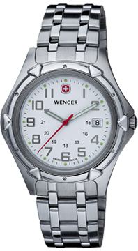 Wenger watch Standard Issue 73119 Sea Barracuda, date