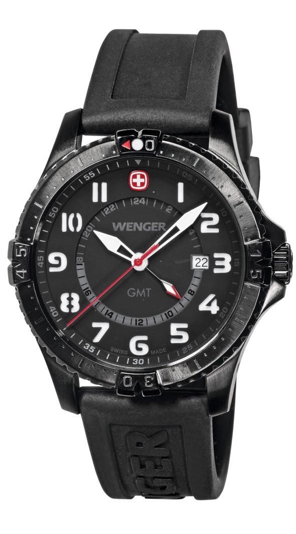 WENGER montre suisse Squadron GMT 77073