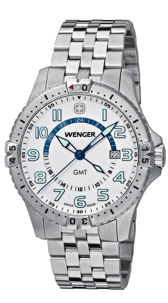 WENGER montre suisse Squadron GMT 77079