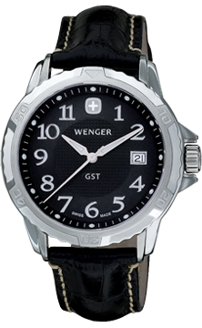 Wenger watch GST 3-Hands 78235 Date, gents
