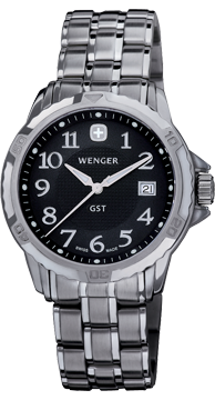 Wenger watch GST 3-Hands 78236 Date, gents