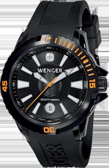 Wenger watch GST Diver 78275, date, gent