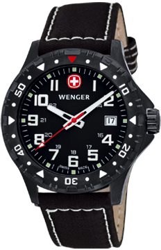 Wenger Watch Off Road 79304W, PVD, Date, gents