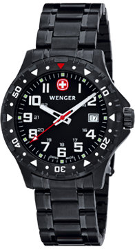 Wenger Watch Off Road 79309W, PVD, Date, gents