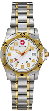 Wenger watch Swiss Military Line Regiment 79336W, ladys, date