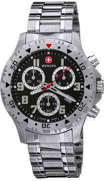 Wenger Watch Off Road Chrono 79355W, Chronograph, Date