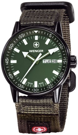Wenger Watch Commando Black line 70174