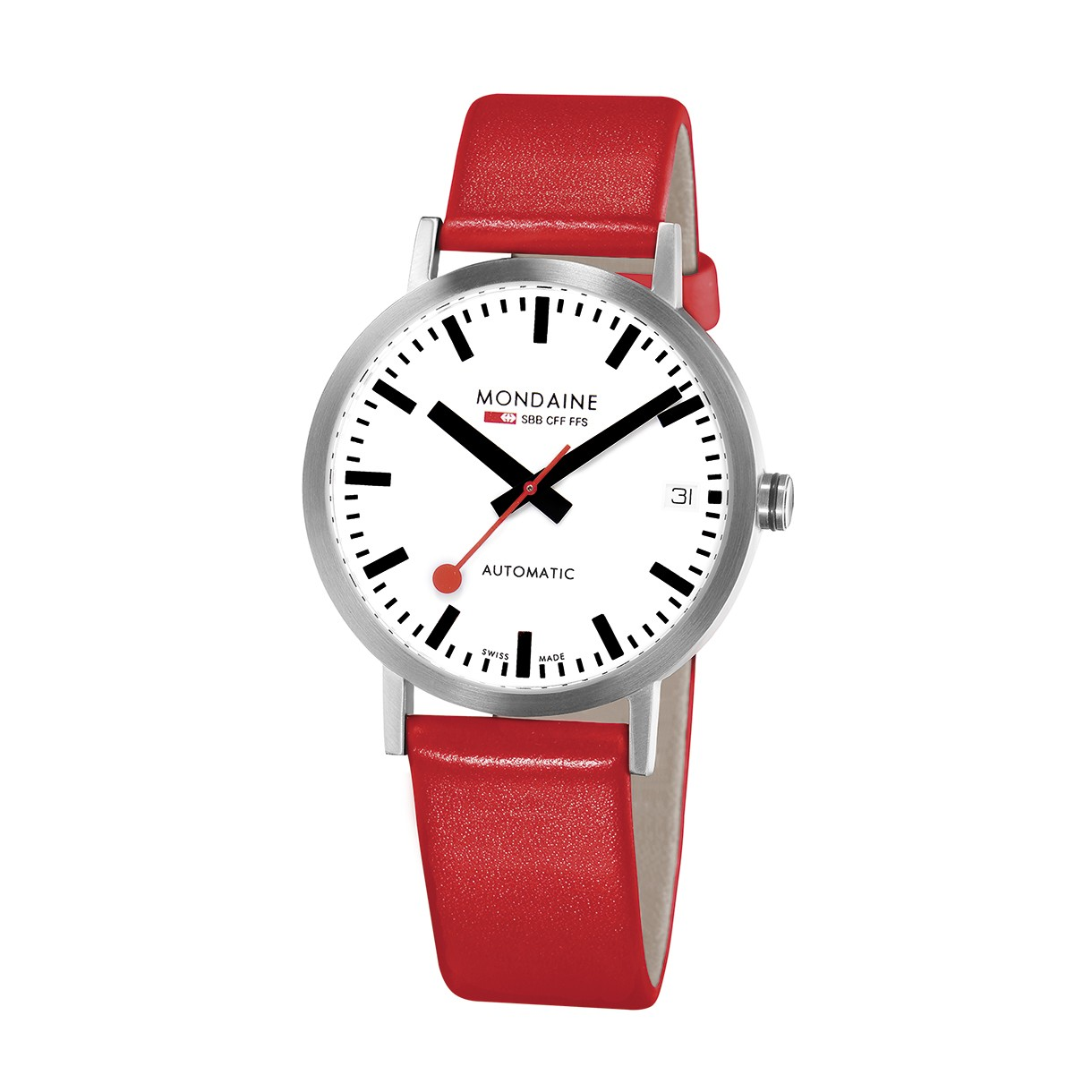 Mondaine swiss watch Classic Automatic A128.30008.16SBC
