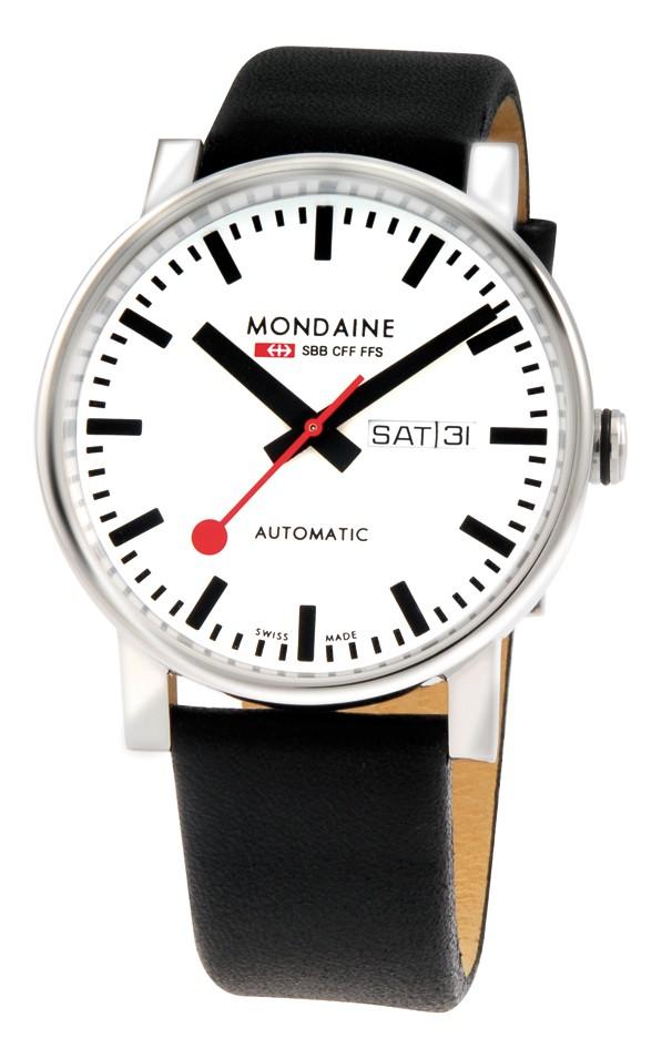 Mondaine swiss watch Men´s EVO Automatic A132.30348.11SBB