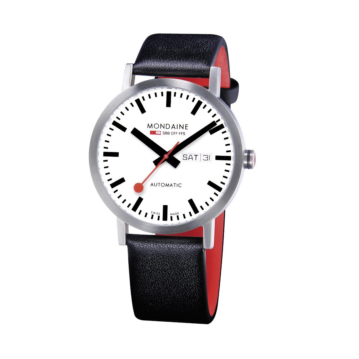 Mondaine swiss watch Classic Automatic A132.30359.16SBB