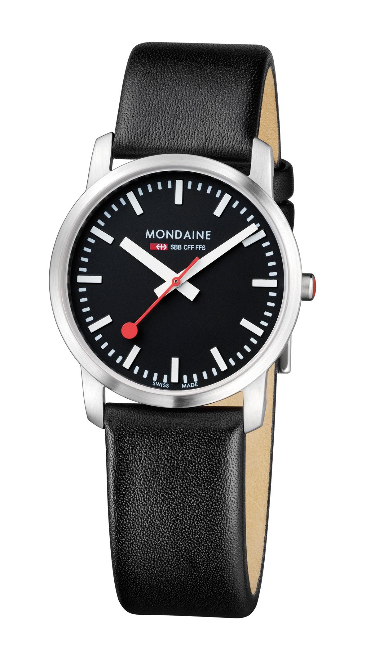 Mondaine swiss watch SIMPLY ELEGANT LADIES - A400.30351.14SBB