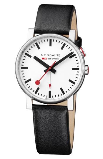 Mondaine montre homme suisse EVO Alarm A468.30352.11SBB